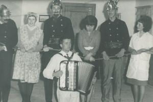 Werner Bartsch (rechts) Musiker, Robert Weinhart, Monika Horch15121223