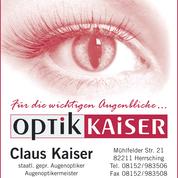 Optik Kaiser Claus-Jürgen Kaiser