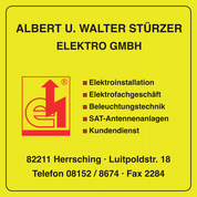 Stürzer Albert u. Walter Elektro GmbH