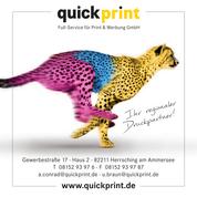 quickprint Full-Service für Print & Werbung GmbH